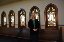 The Rev. Dr. Sharon Watkins at Bethany Memorial Church