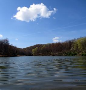 TRSP lake and cloud
